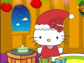Игра Hello Kitty X-mas прослава. Игра онлајн